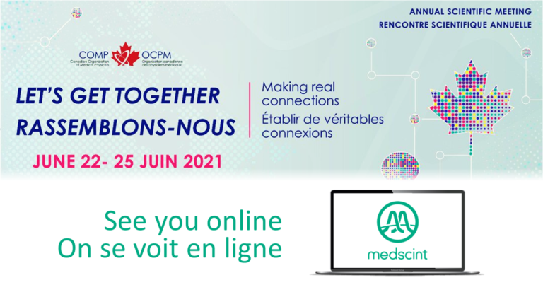 Medscint at the 2021 COMP Annual Scientific Meeting