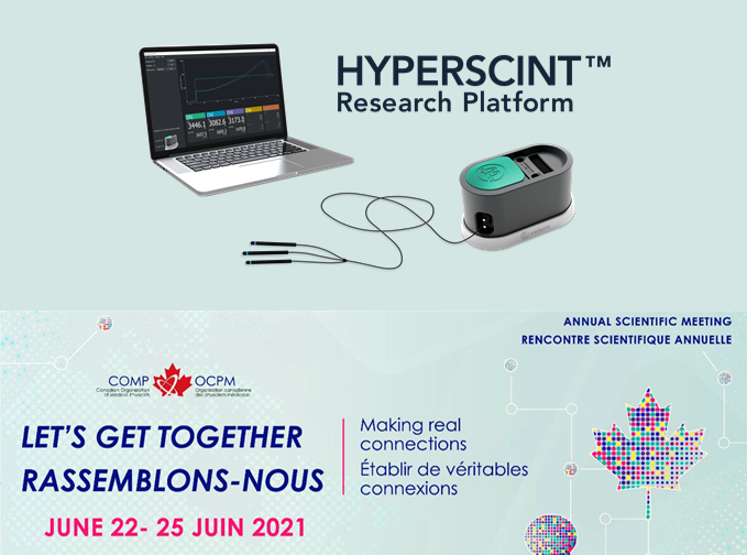 Featuring HYPERSCINT at the 2021 COMP ASM