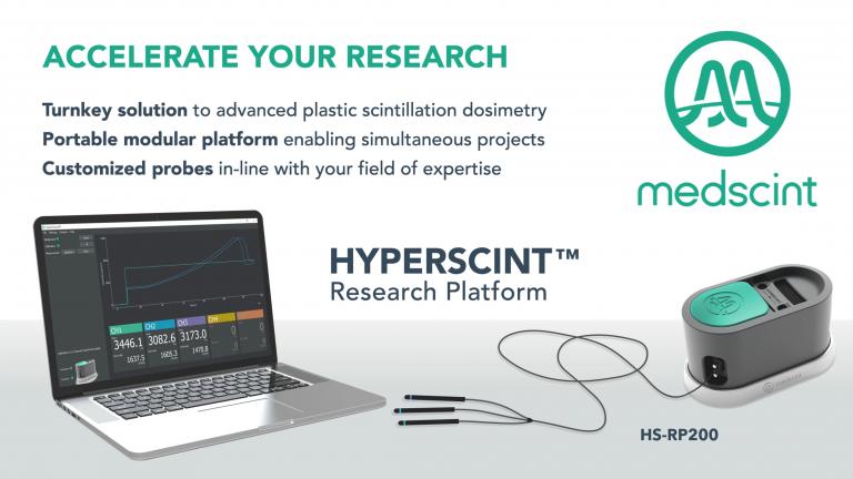 New HS-RP200 HYPERSCINT Research Platform