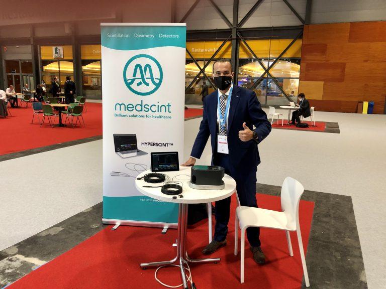 First presence for Medscint at ESTRO 2021